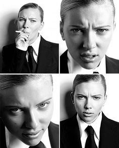 Scarlett Johansson by Russell James Note: Peoples looking at my pins, do not-I repeat, DO NOT-judge me for posting this on any of my boards.  This is in no way, a reflection of who I am and what my tastes are.  I love risk takers, and risk taking in all its forms.  This picture is merely indicative of that risk taking.  The End.