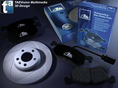 007 - Ref. ATEBrakes :: ATE Brakes - ATE PremiumOne® Disc Brake Pads and Rotors