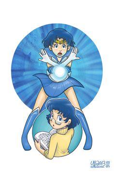 Ami Mizuno, alias Sailor Mercury by TheBourgyman.deviantart.com on @deviantART