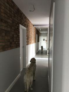 efekt starej cegły na nowej ścianie, brick wall