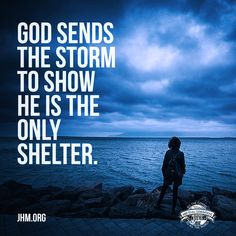 Finding refuge in Jesus during our hardships is one of the greatest demonstrations of His love for us.