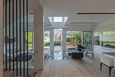 Light well for floor below http://architectism.com/casa-212-alfonso-reina/Tetris House  / rzlbd