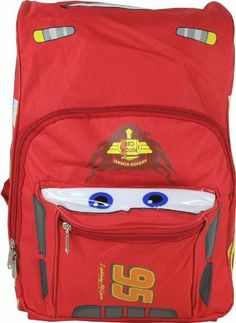"15"" Disney Pixar Cars Lightning Mcqueen Backpack-tote-bag-school by Disney. $18.99. Aprroximate Dimensions: 11"" x 15"" x 4.5"""