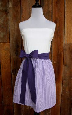 lsu gameday dresses | LSU game day dress | D I Y: Sewing things