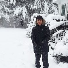 I kook so damn different in this pic  #snow #blizzard2016 # by its_alihaider