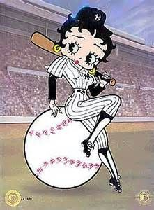 Betty Boop......let's play ball!