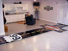 Painted Floor Garage Ideas