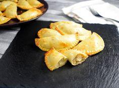 Empanadillas de Pollo y Champiñones a lo Stroganoff