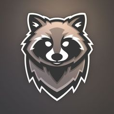 """Project by Jolan Wood from """"How To Design Sports Logos: Create Your Own Team Mascot"""" Logo D'art, Bold Logo, Team Logo Design, Mascot Design, Sport Design, Logo Inspiration, Logo Animal, Create Logo, Logo Simple"""