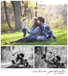 six month old six months photos family session with dog pittsburgh family photographer (13)