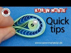 Quilling Comb Figure (Quick Tip) - Karen Marie Klip & Papir Neli Quilling, Quilling Videos, Paper Quilling For Beginners, Paper Quilling Earrings, Paper Quilling Cards, Quilling Comb, Paper Quilling Patterns, Origami And Quilling, Quilled Paper Art