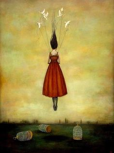 "-my all time favorite piece of art... ""Suspension of disbelief"" by Duy Huynh"