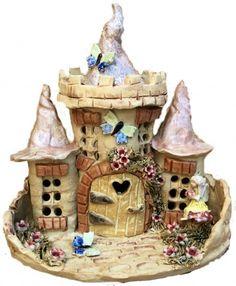 Fairy castle lamp.