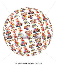 cartazes de familia com mundo de arco íris - Pesquisa Google