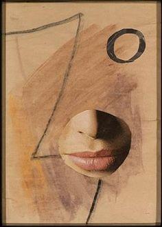 Dada Head Variation - no. 507 - Hans Richter Dadaism Art, David Bomberg, Dada Artists, Hans Richter, Hans Arp, Francis Picabia, Marcel Duchamp, Alfred Stieglitz, Mary Cassatt
