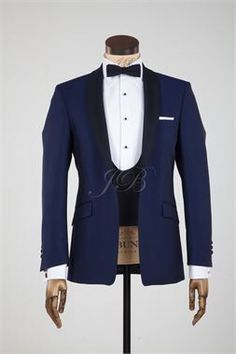 Royal blue tux
