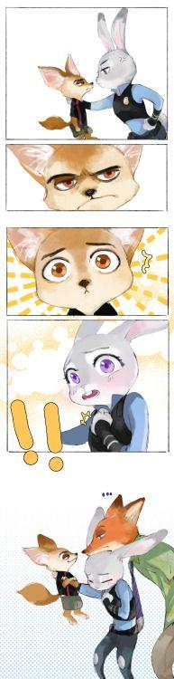lovevioletworld: Zootopia jest sooooooooooooooo ładny !!!!!! soooooooo słodkie !!!!!! Dawno się nie widzieliśmy!