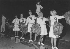 San Fernando Valley State College cheerleaders