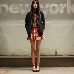 Asos Mid Heels, Narrina Floral Skirt, The Orphan's Arms Hoodie