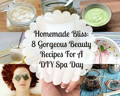 8 gorgeous recipes for a diy spa day
