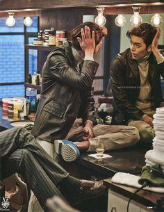 [Scans] Kim Woo Bin for LEON Magazine