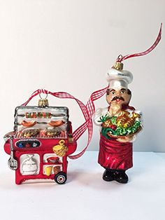 Ornaments to Remember: Chef & BBQ Christmas Ornaments