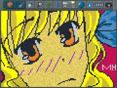 Animes seems to be a passion for a lot of Pixel Artists!