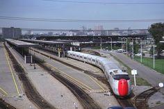Turbo at Ottawa. Locomotive, Time Travel Machine, Go Transit, Via Rail, Canadian National Railway, Rail Train, Electric Train, Train Tracks, Montreal