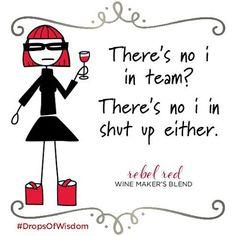 Just sayin. #middlesister #middlesisterwine #wine #winelover #wineoclock #instawine #redwine #rebelred #dropsofwisdom