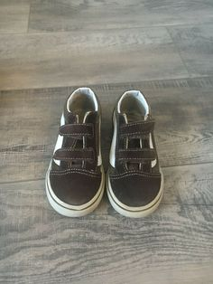c3f0acaf7 Baby Vans Shoes Brown Toddler size  8.5  fashion  clothing  shoes   accessories