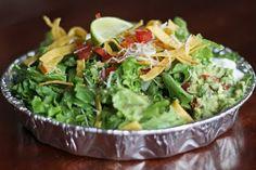 Copycat Costa Vida Sweet Pork Salad and Smothered Burrito recipe. It's perfect!