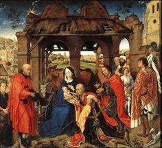 The Adoration of the Magi - Rogier van der Weyden.
