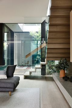〚 Harmony of glass, wood and stone: modern house with interesting design in Australia 〛 ◾ Photos ◾ Ideas ◾ Design