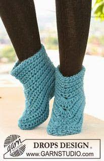 Cats-Rockin-Crochet, Free Crochet and Knit Patterns: Best Free Crochet Slippers