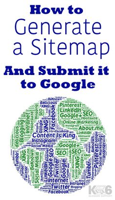 how to submit blog sitemap and why blogging pinterest blog