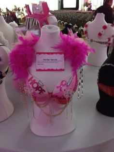 "Bra-ha-ha 2013 entry                                    ""Pink = Hope, Hope = Cure"""