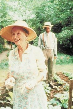 Jessica Tandy & Morgan Freeman, in Driving Miss Daisy