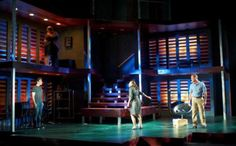 Next to Normal. Uptown Players. Set design by Andy Redman.