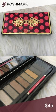 Mac Warm Nutcracker Eyeshadow Palette Gorgeous warm eye shadow palette. Never used or touched. Super limited edition no longer in circulation. MAC Cosmetics Makeup Eyeshadow
