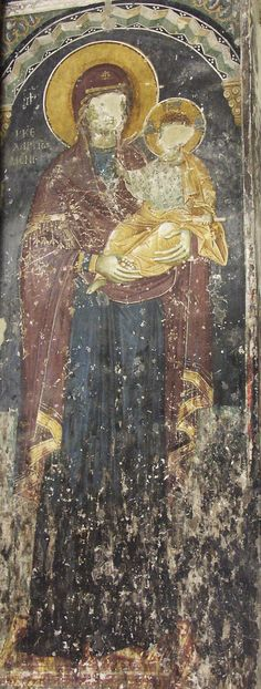 Frescoes Old Nagorichno centuries Church Icon, Life Of Christ, Place Of Worship, 14th Century, Wood Carving, Fresco, Christian, Icons, Painting
