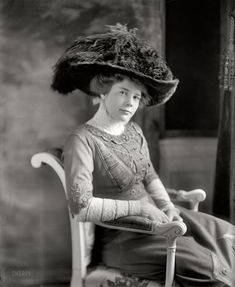 Ethel Roosevelt, daughter of Theodore and Edith, 1908.