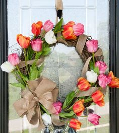 The season of adorable spring weddings has begun, and these tutorials are to help those who are tying the knot in the spring. A wreath can be used ...