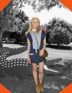 Right Choice Award: DIANE KRUGER in LACOSTE