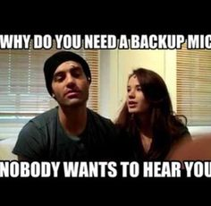 Hahahahaha I love this video of them! I have watched it so many time!