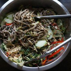 Asian soba noodle salad - Giada Feel Good Food Recipe