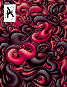 Design by Alex Trochut  #Design #Illustration #Art #Type #Xfuns #AlexTrochut