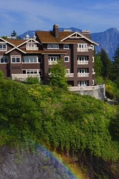 Salish Lodge And Spa, close to the city, yet worlds away. Another must-see for Twin Peaks fans.