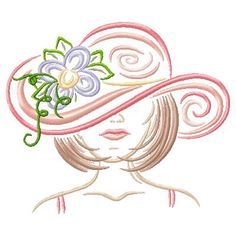 Spring Woman : Thread Treasures, - Turning your thread into treasures