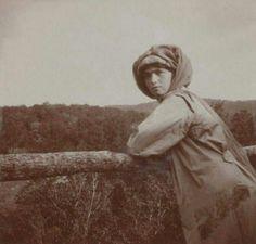 "Grand Duchess Olga Nikolaevna Romanova of Russia in 1913. ""AL"""