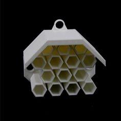 3D Printable Bee House by Glen McDonald